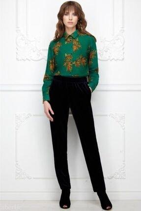 Faberlic Kadın Lacivert Kadife Pantolon 38 Beden