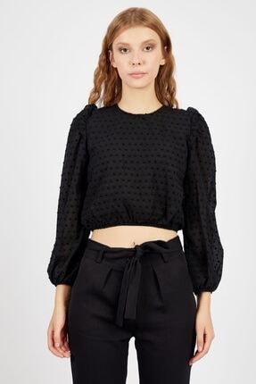 Manche Kadın Siyah  Gömlek | Mk20s162602