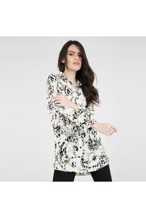 Ayhan Kadın Ekru Gömlek 50340