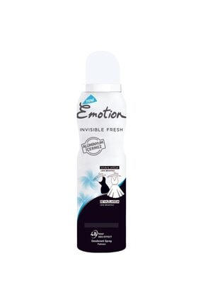 Emotion Deo Kadın Sprey Invisible Fresh 150 Ml