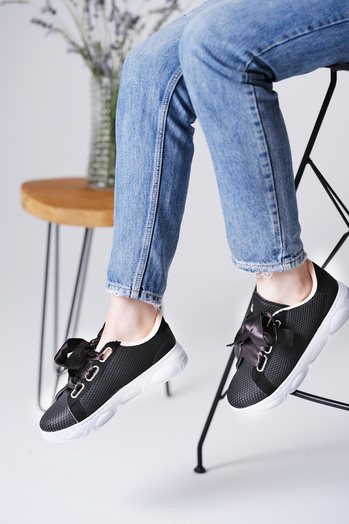Oksit Giyim Alice Air Fileli Kadın Sneaker