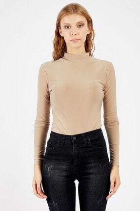 Manche Kadın Vizon T-shirt | Mk21w265048