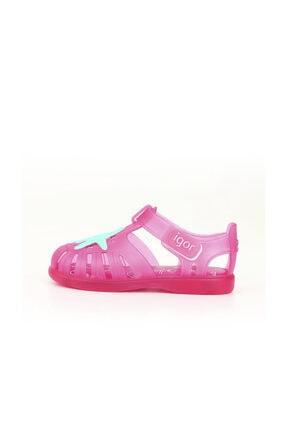 IGOR Kız Çocuk Pembe Tobby Velcro Estrella Sandalet
