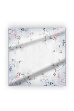 Silk & Cashmere Unisex Gri Saf İpek Laila Fular 53x53 cm A202F134001
