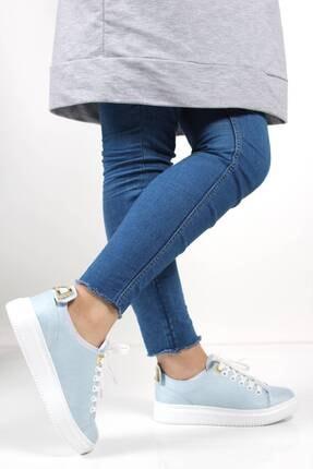 Oksit Giyim Kadın Turkuaz Sneaker