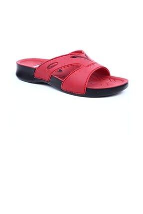 Ceyo Kadın Kırmızı Terlik 3400 2