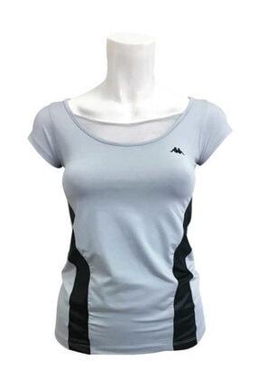Kappa Kadın Gümüş T-Shirt