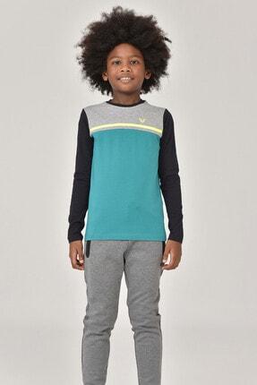 Bilcee Unisex  Uzun Kol Çocuk T-Shirt FW-1487