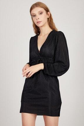 Manche Kadın Siyah Elbise