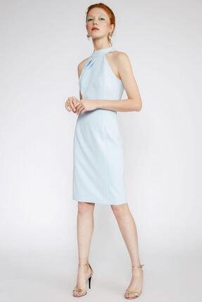 Perspective Kadın Açık Mavi Kolsuz  Elbise