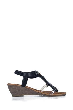 Guja 20y205 Bayan Siyah Günlük Sandalet