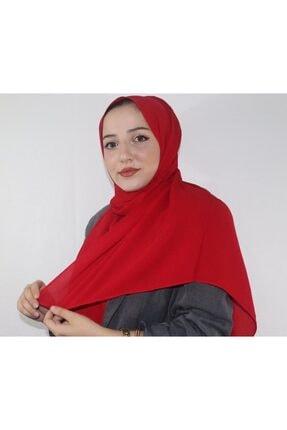 Eflatun Kadın Kırmızı  Cazz Şal