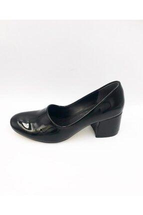 Punto Kadın  Siyah Ayakkabı Topuklu