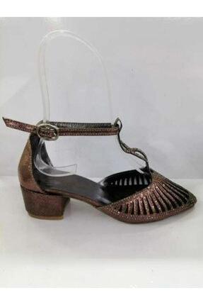 Sanbe Kadın Bakır Abiye Ayakkabı