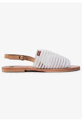 Levi's Kadın Beyaz Regular Sandalet