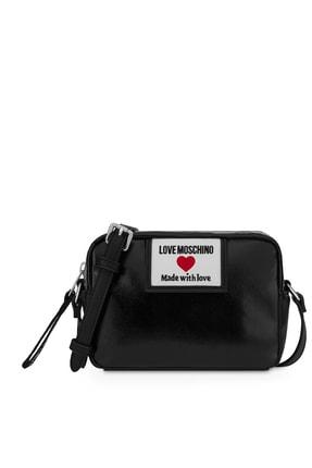 Moschino Marka Logolu Ayarlanabilir Omuz Askılı Çanta Kadın Çanta Jc4033pp1clc100a