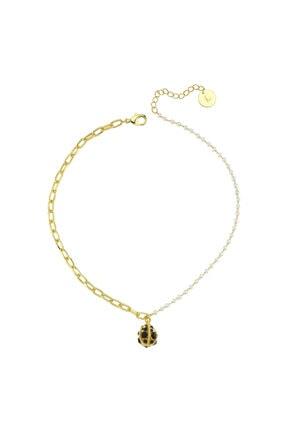 LUZDEMIA Kadın  Pearl Petite Star Necklace