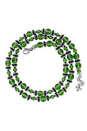 Valael Yeşil Şans Kolyesi, Siyah Yeşil