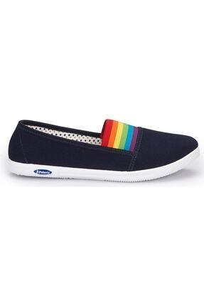 Polaris 354986.z Kadın Keten Babet Ayakkabı