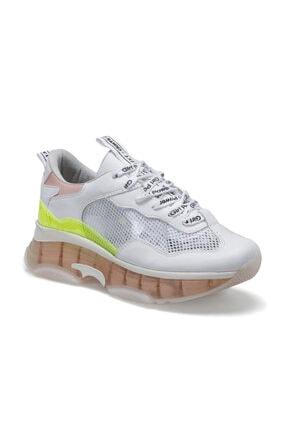 Butigo 20S-016 Beyaz Kadın Kalın Taban Sneaker Spor Ayakkabı 100517437