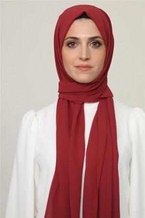 Karaca Kadın Kırmızı Nano Krep Şal