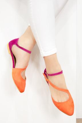 Fox Turuncu Fuşya Kadın Ayakkabı D726016902