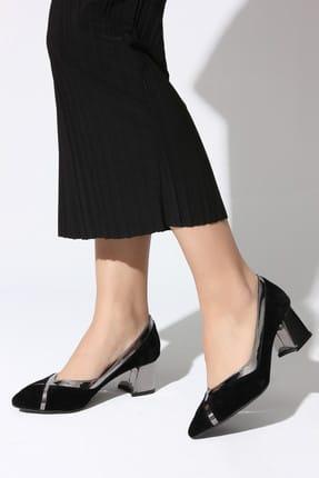 Rovigo Siyah Kadın Topuklu Ayakkabı 111181158-03