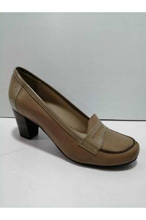 GÖN Kadın Deri Topuklu Ayakkabı