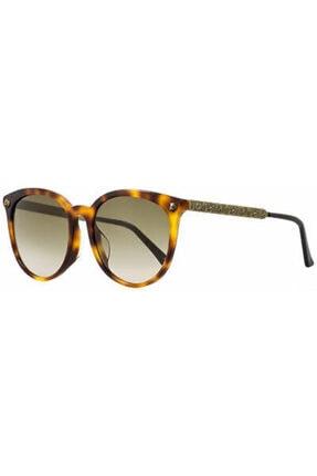Gucci Kadın Kahverengi Güneş Gözlüğü  Gg0224 005
