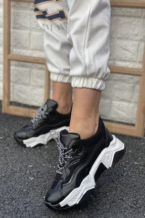 İnan Ayakkabı Kadın Siyah Sneakers