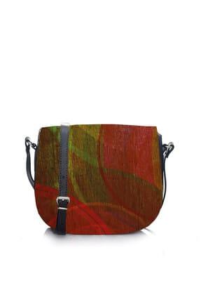 Housebags Çok Renkli Desenli Kadın Sırt Çantası  986