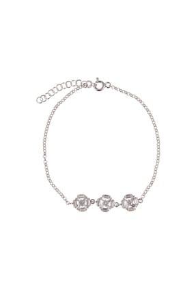 Coquet Kadın Baget Karışık Gümüş Bileklik 19G9U08C1778