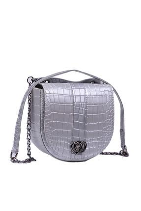 Housebags Gümüş Kadın Omuz Çantası 144