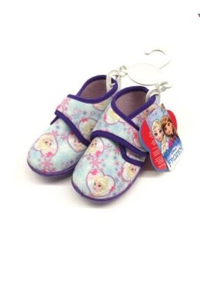 Hakan Çanta Panduf Frozen Elsa 23 Numara Fermuarlı Ev Ve Anaokulu Ayakkabısı Little Pati Renkli