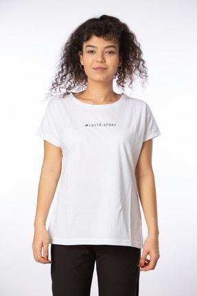 Lotto Kadın Beyaz Julıe Tee Js W T-shirt R8617