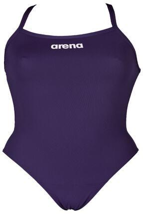 Arena Yetişkin Kadın Yüzücü Mayo Solid Light Tech Hıgh 2a243-075-w