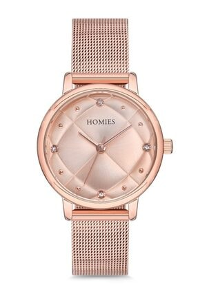 Homies Kadın Rose Gold Kol Saati Hm18082s01-rrr