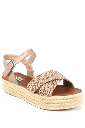Sapin Kadın Hasır Sandalet 22446