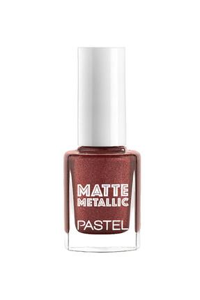 Pastel Mat Oje -  Matte Metallic Nail Polish No: 502 Terracotta 8690644245022