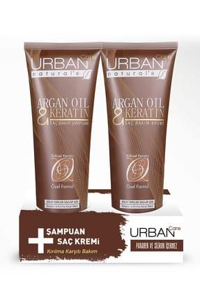 Urban Care Argan Yağı ve Keratin içeren Şampuan ve Saç Kremi 250 ml + 250 ml 8680690702099