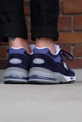 New Balance Mavi Kadın Sneaker W991DB