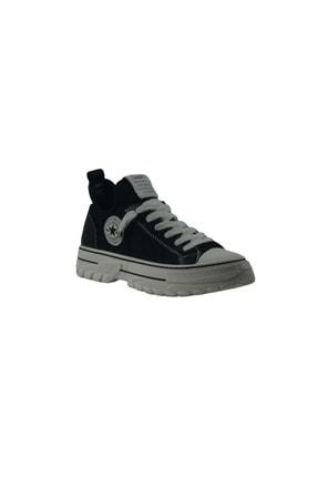 Guja Sneaker Kadın Convers Spor Ayakkabı - Siyah - 36 365-4