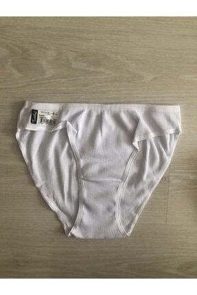 Tutku Kadın Beyaz Kaşkorse Bikini 12'li Karışık Renk