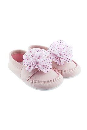 Funny Baby Çiçekli Bebek Ayakkabı