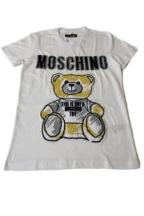 Moschino Ayıcıklı Unisex Tshirt