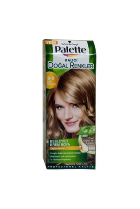 Palette Natural Saç Boyası 8-0 Bal Köpüğü