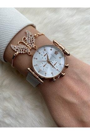 Homies Kadın Beyaz Kol Saati