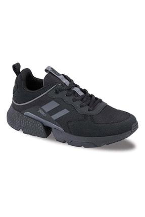 Jump Kadın Comfort Tabanlı Günlük Spor Ayakkabısı - Siyah - Btmz000231-siyah-38
