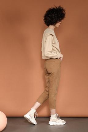 Quzu Kadın Yüksek Bel Pantolon