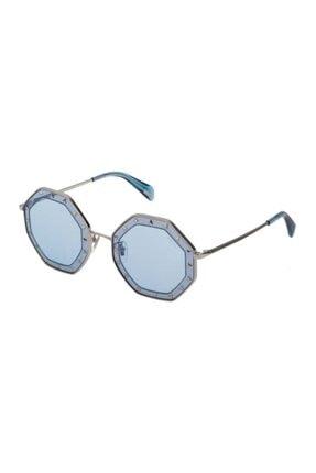Police Kadın Mavi Gümüş Güneş Gözlüğü